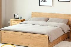 Một chiếc giường đẹp không chỉ làm sáng lên căn phòng mà còn góp phần mang đến sự ấm cúng và cảm giác thoải mái cho con người