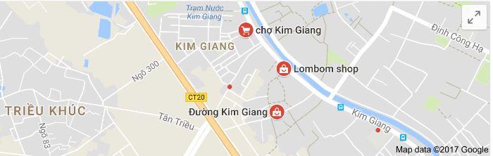 Phố Kim Giang trên bản đồ Google Map