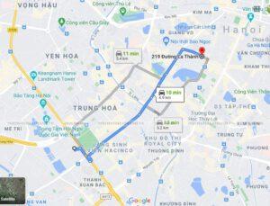 219A - La Thành là showroom mới nhất trong chuỗi Cửa hàng Nội thất Đê La Thành