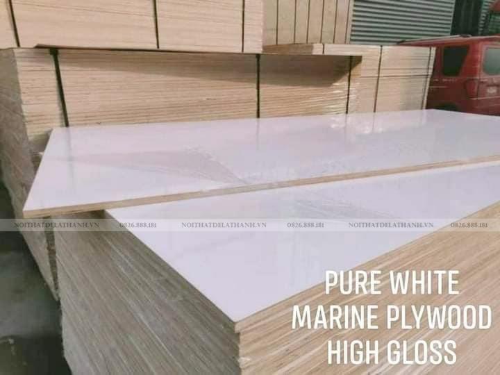 Các tấm ván gỗ Plywood